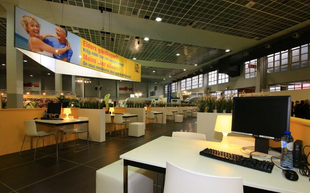 beurstand Neckermann Vakantiesalon Brussel