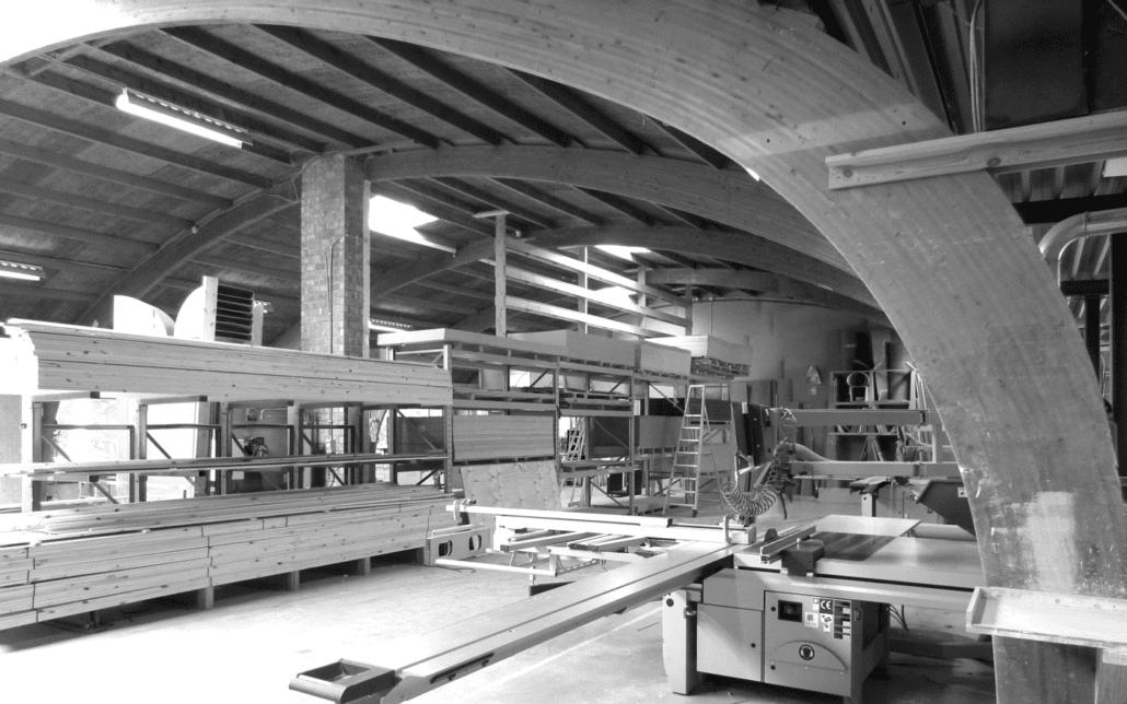 Het atelier van Expo Z standenbouw in Westmalle
