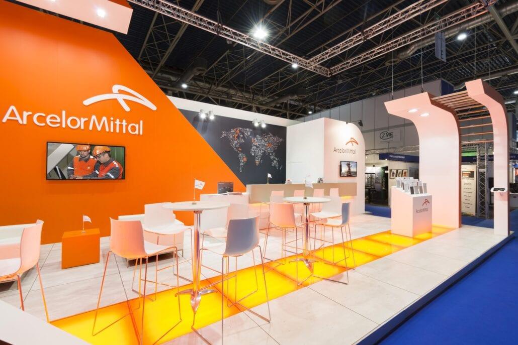 beursstand vloer Arcelor Mittal Esef Utrecht