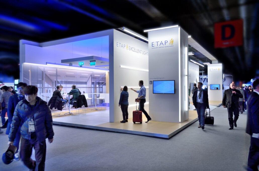 Etap beursstand op Light and Building te Frankfurt