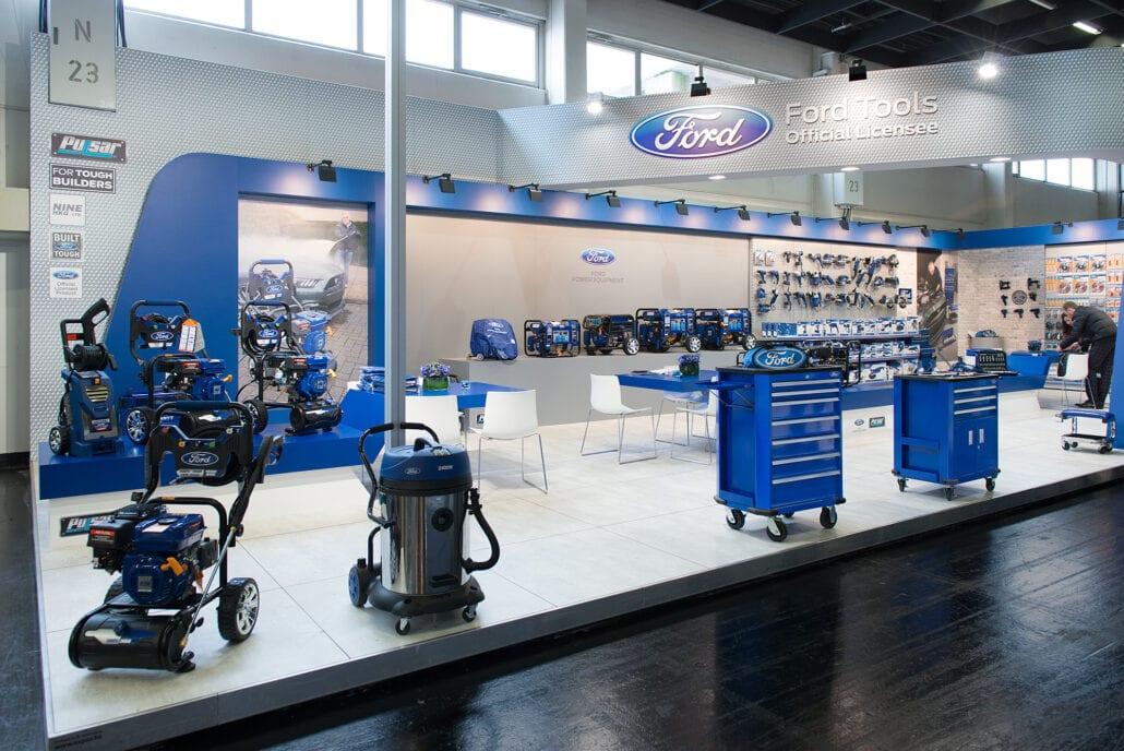detail beursstand Ford Tools Eisenwarenmesse keulen