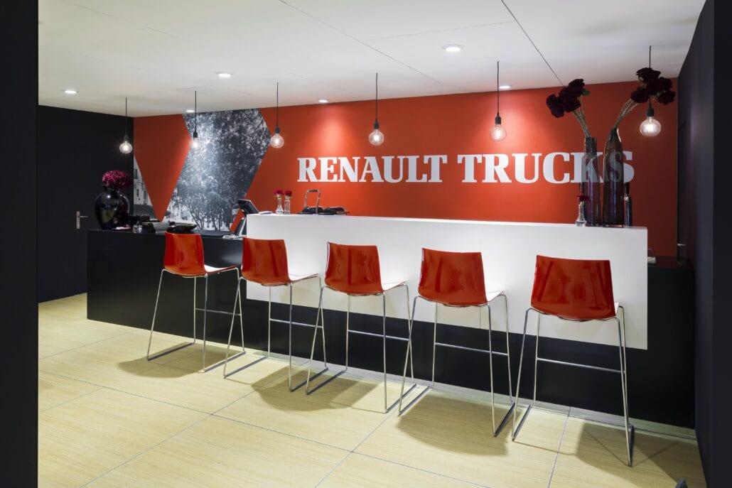 barruimte beursstand Renault Trucks Autosalon Brussel