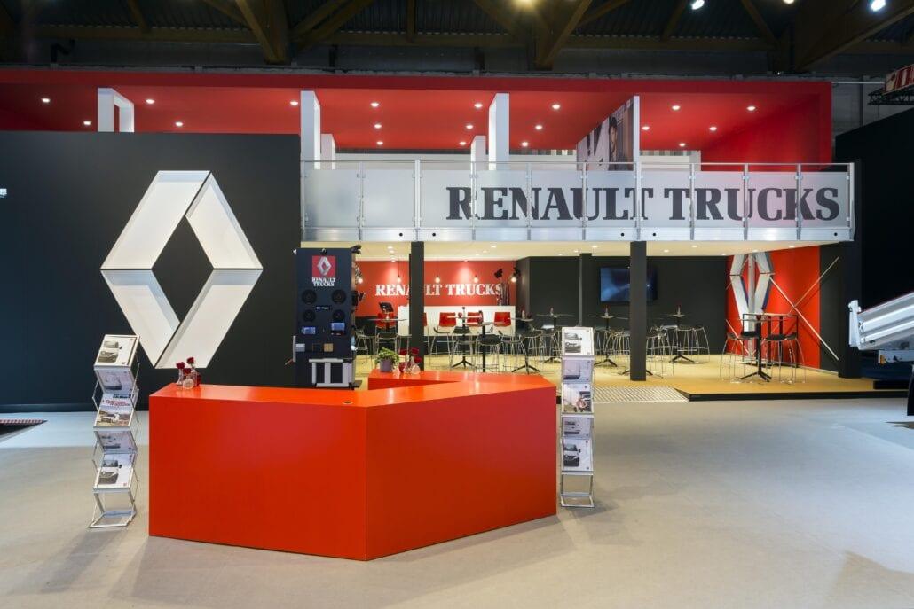 verdiep beursstand Renault Trucks Autosalon Brussel
