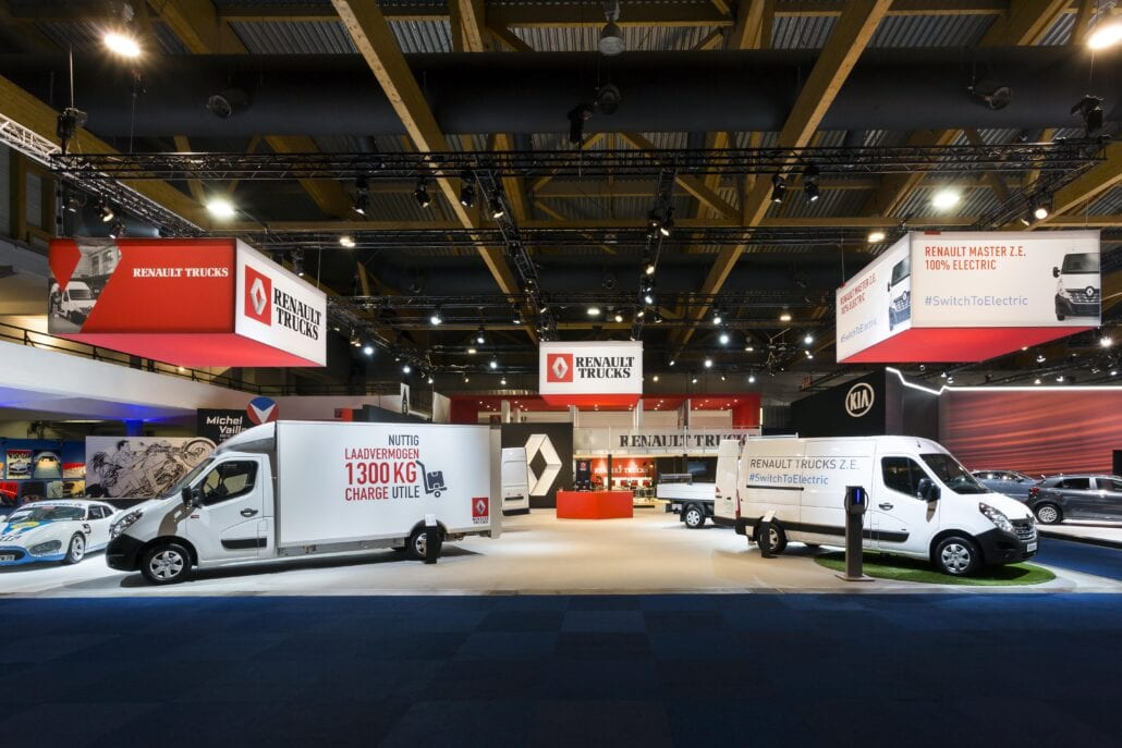 beursstand Renault Trucks Autosalon Brussel