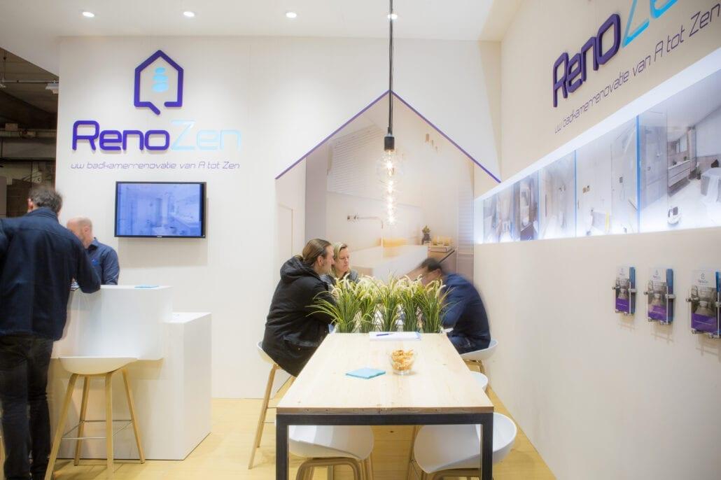 Renozen beursstand op Bouw en Reno Antwerpen