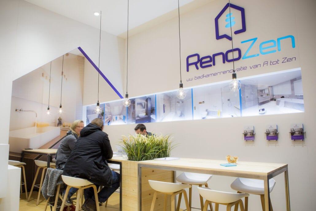 beursstand Renozen Bouw en Reno beurs Antwerpen