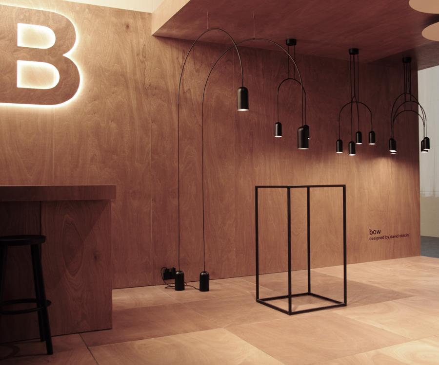 design beursstand voor TossB op Light&Building te Frankfurt