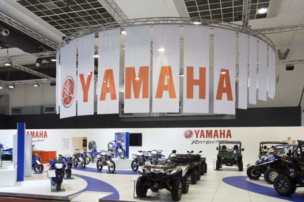 Yamaha beursstand Autosalon Brussel