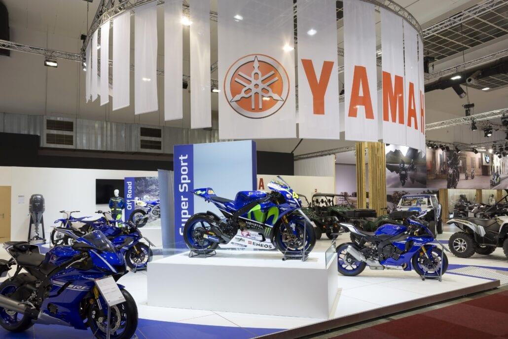 beursstand Dieteren Sport Yamaha Autosalon Brussel