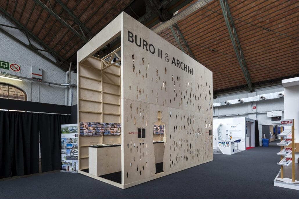 berken multiplex architecturale beursstand Brussel