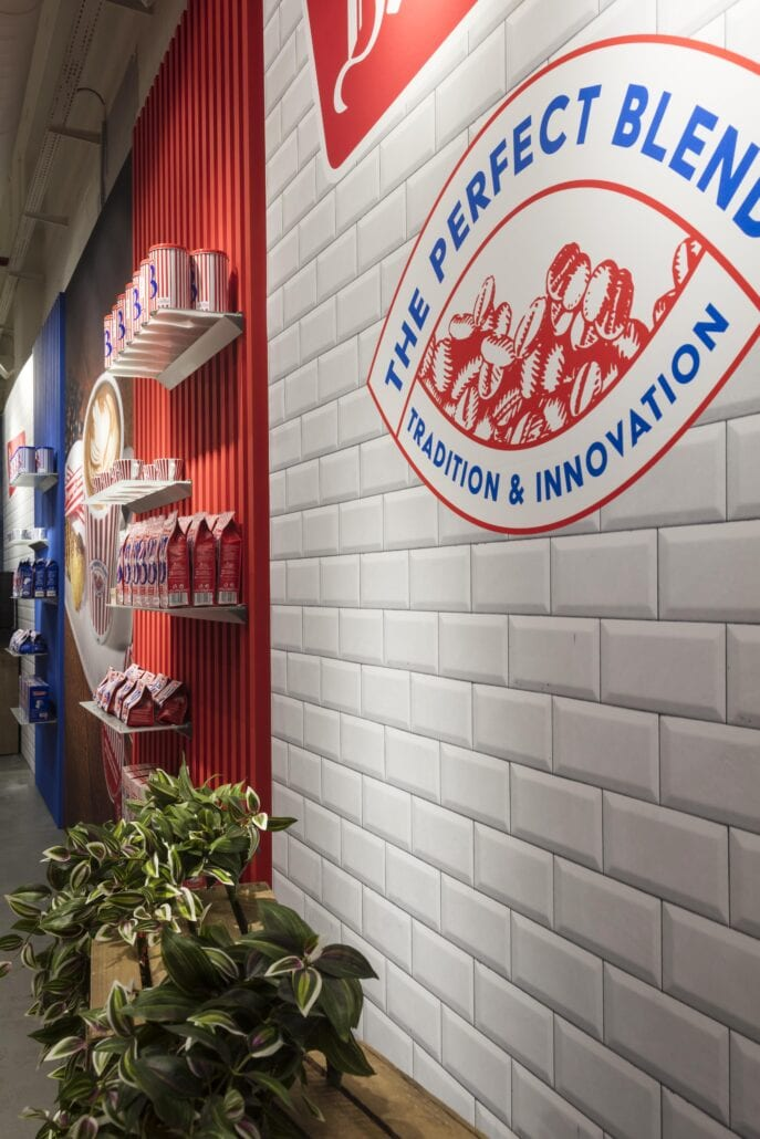 pop-up winkel inrichting Bruynooghe