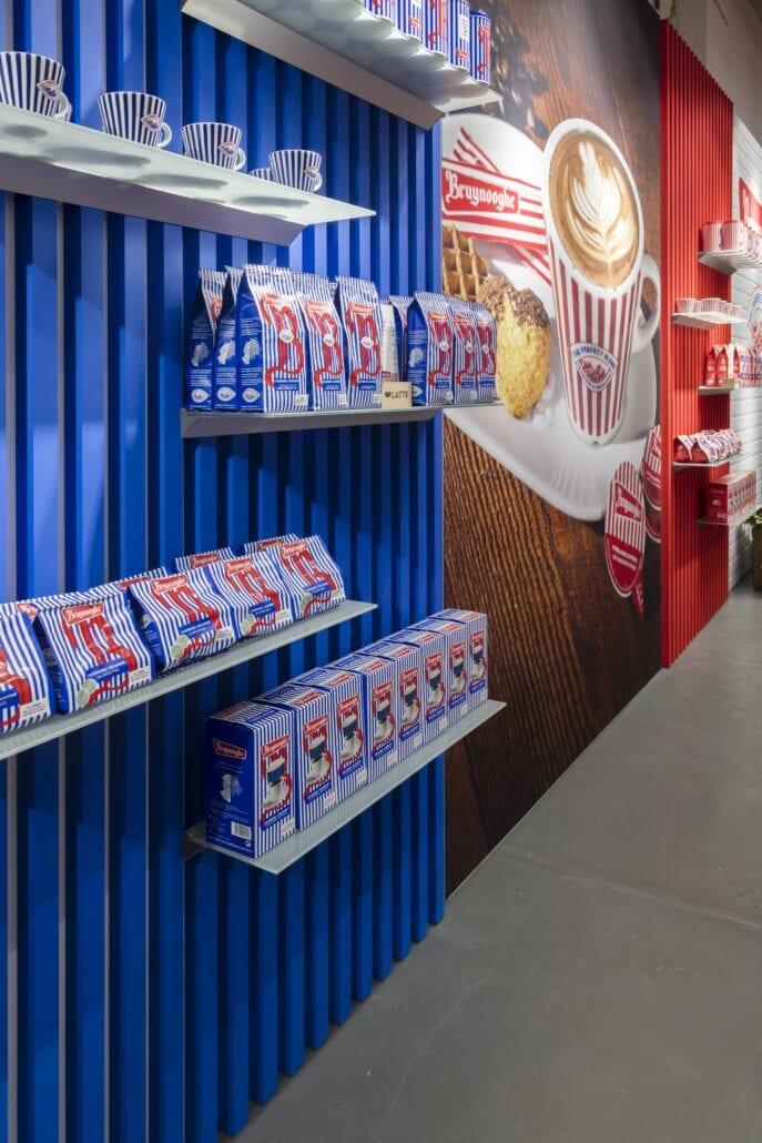 product presentatie in pop-up shop Bruynooghe Kortrijk