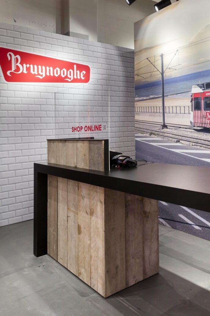 Kassa Bruynooghe pop-up shop in K Shopping Kortrijk