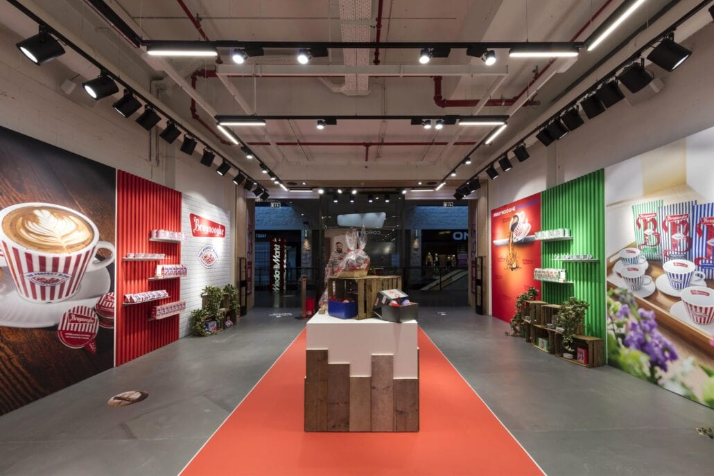 inrichting Bruynooghe pop-up shop