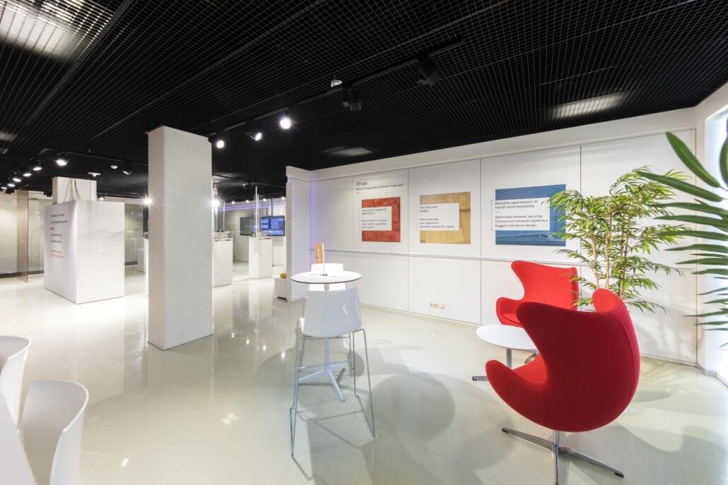design meubilair interieurinrichting OTN systems demoroom