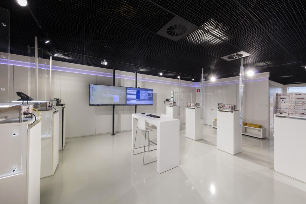 inteieurinrichting demoroom OTN systems Olen