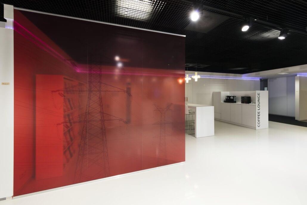 geprinte glazen scheidingswanden interieurinrichting OTN systems