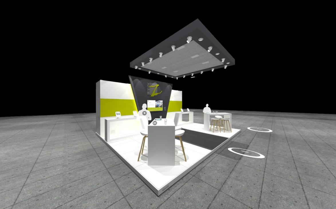 een virtual beursstand ontwikkeld door Expo Z