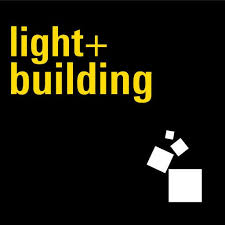 logo light and building Frankfurt