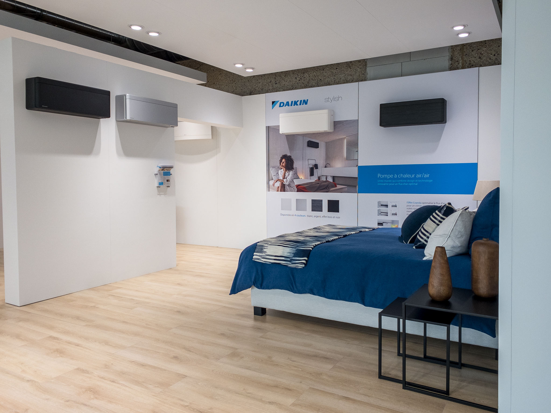 showroom Daikin slaapkamer